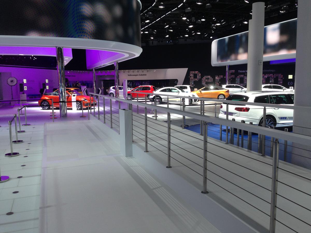 Bild von Volkswagen Messestand